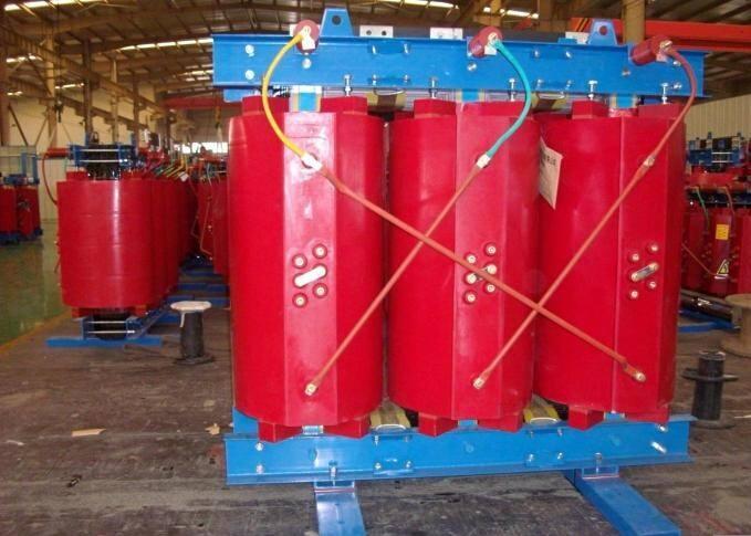 三相干式电力变压器的组成部件